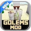 GOLEMS MODS FOR MINECRAFT - Epic Pocket Golems Edition Wiki for Minecraft PC !