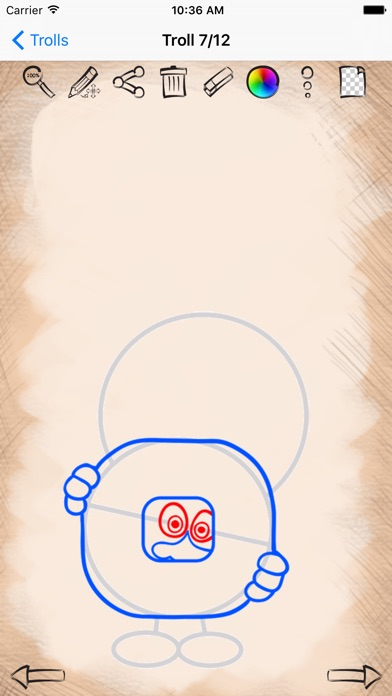 How to draw trolls edition on the app store iphone screenshot 3 ccuart Gallery