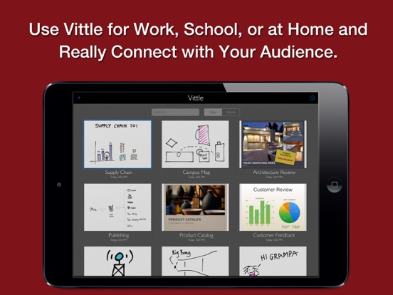 Vittle Pro: Recording Video Whiteboard Screenshot