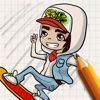 Let's Draw for Subway Surfers subway surfers