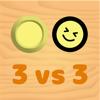 3vs3 対戦ホッケー【2人 ゲーム】