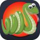 Тепло - Голодные Змеи Едят Цвет Игры