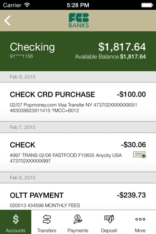 FCB Banks - First County Bank screenshot 4