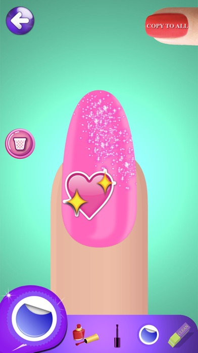 Princess nail art games for girls design fancy nails in best iphone screenshot 1 prinsesfo Gallery