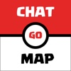 Chat & Map for Pokemon GO Players - Find and message to nearby players manager players skills