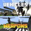 Alex Rastorgouev - VEHICLES & WEAPONS MODS for Minecraft PC Edition - Pocket Guide  artwork