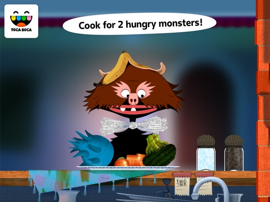 Screenshot #1 for Toca Kitchen Monsters