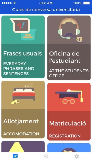 Университетские разговорники Скриншоты3