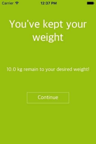 Weight Loss Tracker, BMI screenshot 4