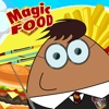 A magic food Happy jumping over food Pou edition parody