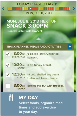 The Fast Metabolism Diet– customized meal planning screenshot 3