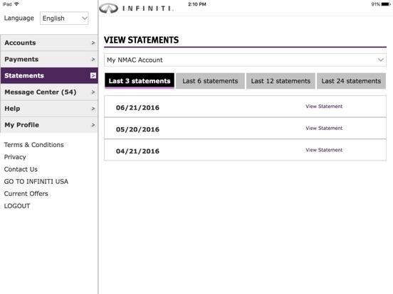 App shopper ifs account manager business for Nissan motor finance customer service