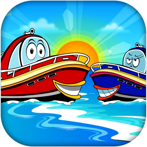 Speed Boat Chase for Kids FREE- Powerboat Racing Adventure iOS App