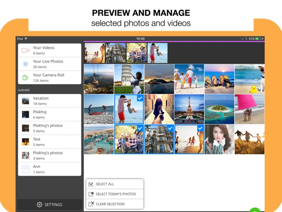 Photo Transfer 3.0 Advanced Screenshots
