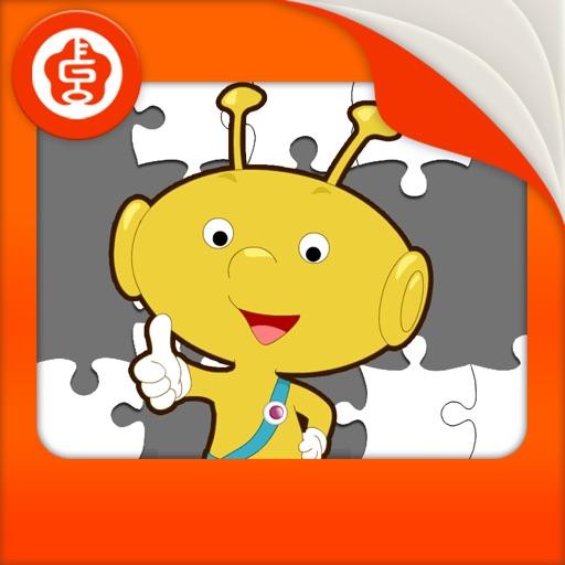 儿童拼图游戏(精美图画,3种难度挑战)-黄金教育