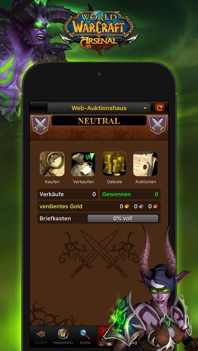 World of Warcraft Mobile Armory Screenshot