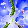 Magic Rope : Cut line in the best point touch