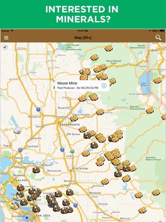 Diggers Map Natural Resources Minerals On The App Store - Natural resources map of us