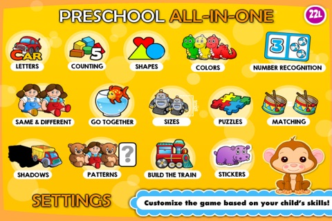 Baby games for 2 -4 year olds· screenshot 3