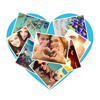 Photo shape collage maker: photo album maker