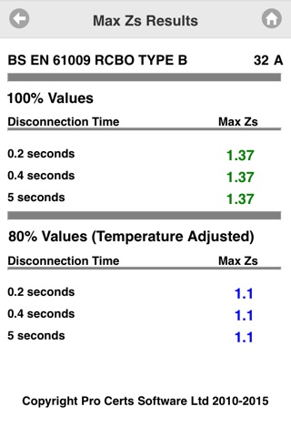 Max Zs Values screenshot 2