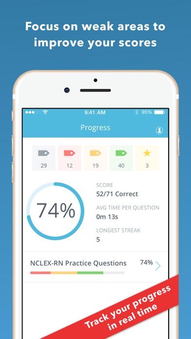 Barron's NCLEX-RN Review Screenshot