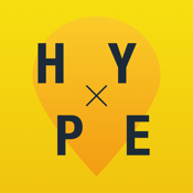Hype - find cool places & events icon