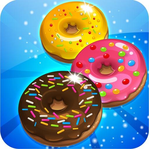 Donut Dazzle Dash - Match 3 Sweet Cookie Mania iOS App