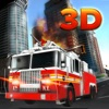 911 Fire Truck Rescue 3D - Rescue As A Real Police Fire-Truck Ambulane Sim Game