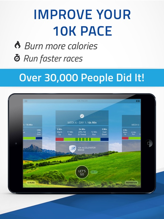 Pacer 10K: run faster races Screenshots
