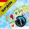 スペイン、ポルトガル - オフライン地図&GPSナビゲ