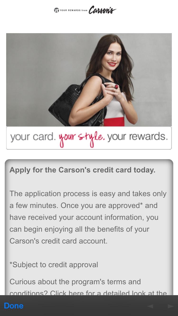 Carson S Credit Card Login Cardbk Co