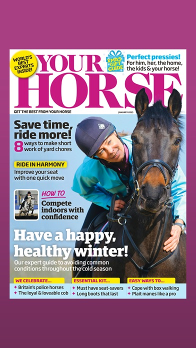 Your Horse Magazine review screenshots