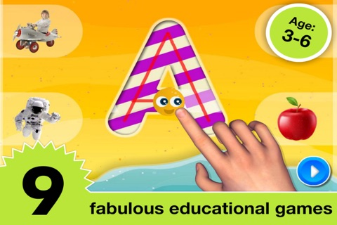 Letter Quiz Preschool  Alphabet & Letters Learning screenshot 2