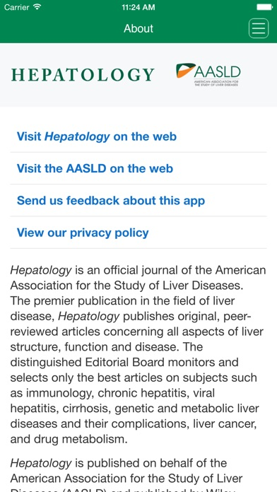 Hepatology review screenshots