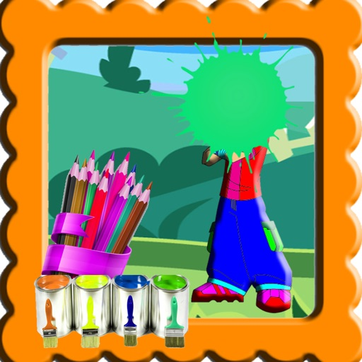 Color For Kids Game Ben 10 Version iOS App