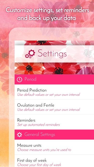 My Calendar - Period Tracker & Menstrual Calendar screenshot