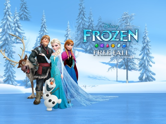 Screenshots of Frozen Free Fall for iPad