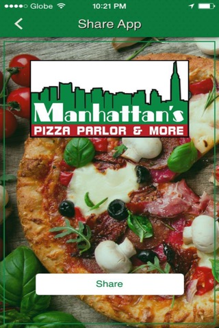 Manhattans Pizza Parlor & More screenshot 2
