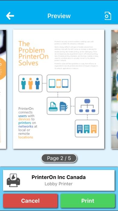 PrinterOn for MobileIron Скриншоты4