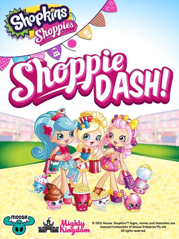 Shopkins: Shoppie Dash! на iPad