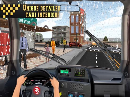 In Taxi: Drive Simulation 2016 screenshot 6