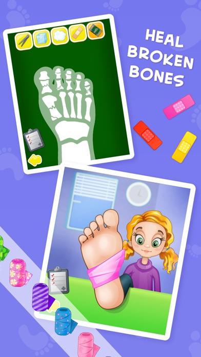 download Médico del pie loco-juego de hospitales para niños apps 0