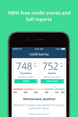 Credit Karma screenshot 1
