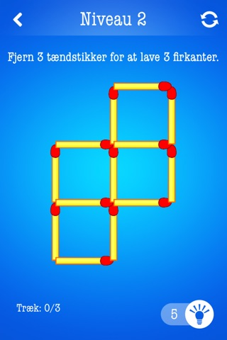 Matchsticks ~ Free Puzzle Game with Matches screenshot 1