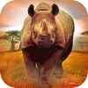 3D Rhino Hunt - Crazy Wild Attack Simulator Game amazing crush fight