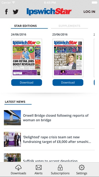 Ipswich Star review screenshots