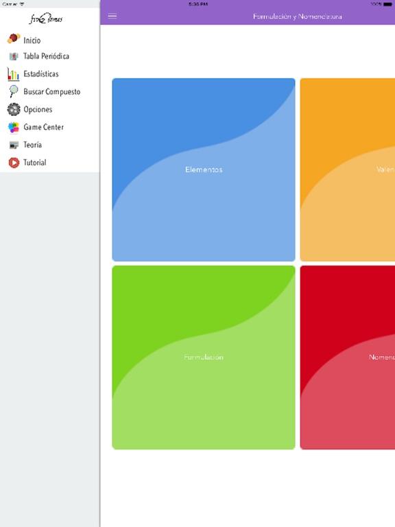 Formulación y Nomenclatura Inorgánica iPad