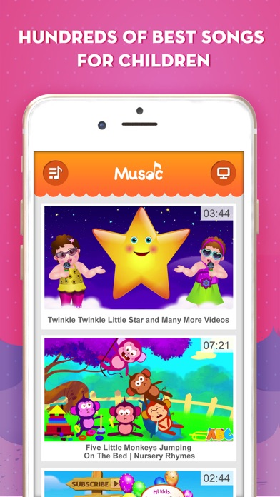 download Music Kids - Free Music Videos for YouTube Kids apps 1