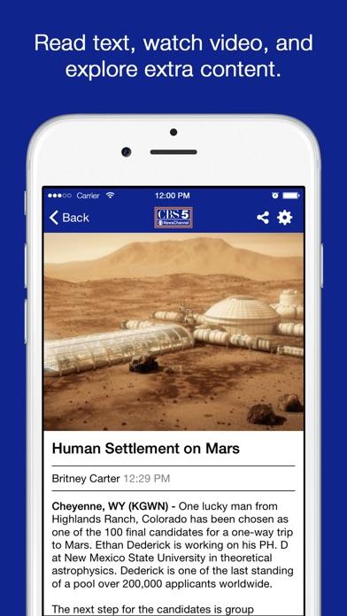KGWN NewsScreenshot of 3